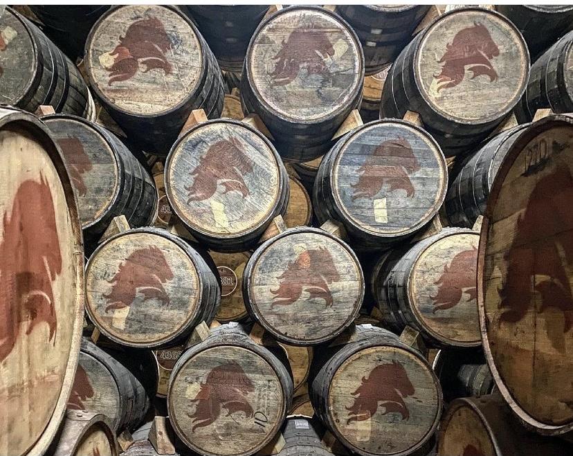 カサマエストリ蒸留所の樽